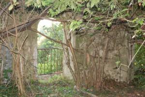 Le même balcon vue de l'intérieur