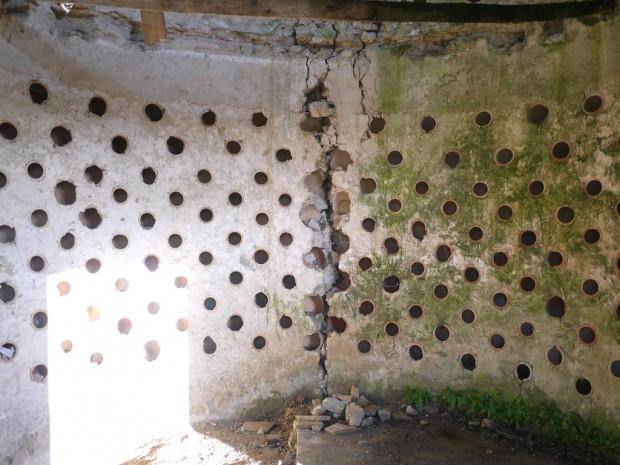 Intérieur du colombier
